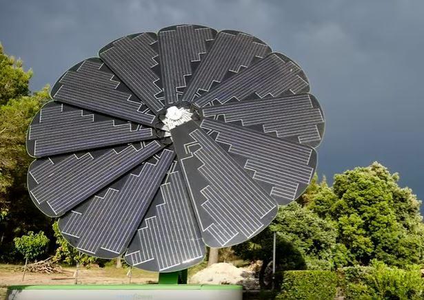 La SmartFlower, la fleur de l'innovation dans l'énergie renouvelable